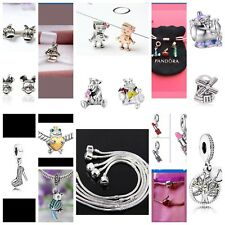 ⚠️DEAL!! ANY 4 CHARMS FOR €14.99 Pandora Style 925 Free Gift Bag Family Disney