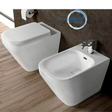 Sanitari filo muro Ideal Standard Tonic II vaso AquaBlade, bidet e coprivaso