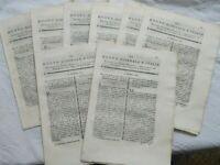 1795 RIMINI LOTTO 'NUOVO GIORNALE D'ITALIA' SU ALLEVAMENTO DI FRANCESCO BONSI