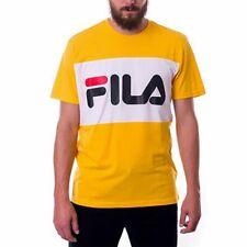 Las mejores ofertas en Camisas FILA Amarillo para De hombre ...