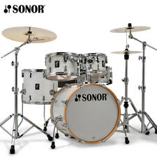 "NEW Sonor AQ2 Series 5 Piece 20"" STUDIO Drum Set Shell Pack White Marine Pearl"