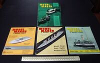 1964 Vintage Model Maker Magazine x 4 Ships Cars Yachts Adverts Engineering #13