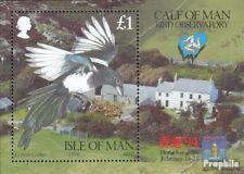 Verenigd Koninkrijk-Island Man Blok 20 postfris 1994 Vogels