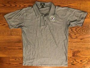Colorado Avalanche 2001 Stanley Cup Champions Polo Shirt Men's 2XL Vintage VTG
