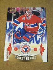 2014 National Hockey Card Day #NHCD - 12 - Patrick Roy - Montreal Canadiens    X
