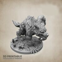ULFWERENER (HOMBRE LOBO) SCALE 32mm  MORDHEIM ZOMBICIDE DnD ROL WARHAMMER