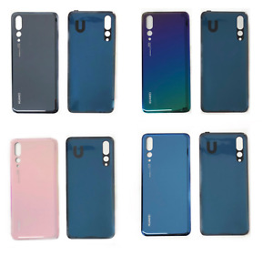 New Huawei P20 Pro CLT-L09 Rear Glass Back Battery Door Cover With Adhesive