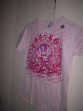Small Pink NY New York Giants Tackle Breast Cancer T-Shirt S