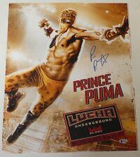 Prince Puma Signed 16x20 Photo BAS COA Lucha Underground Ricochet Pro Wrestling