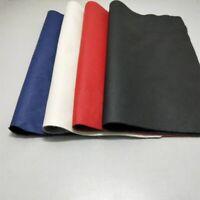 Genuine Real Leather Fabric First Layer Cowhide Hide Cut Material Scrap DIY Trim