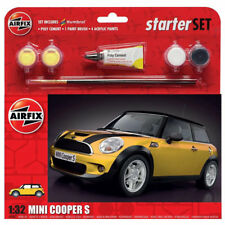 Airfix 1/32 BMW Mini Cooper S Starter Set # A55310