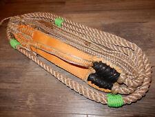 """Bull rope Custom 2"""" Offset of Pro 9/7 Rh Ept Bull Ropes -Rodeo riding bull rider"""