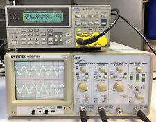 GW INSTEK Oscilloscope GOS-6112 2 Channel 100MHz