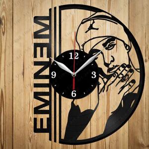Vinyl Clock Eminem Vinyl Clock Handmade Art Decor Original Gift 2845