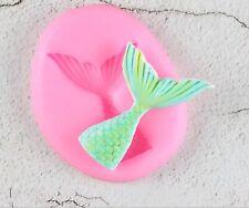 fish tail mermaid mould sugar craft chocolate resin soap clay jewellery art