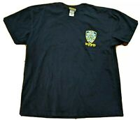 NYPD Shirt New York Police Department Logo Shield Dark Blue T-Shirt Tee Cops LE
