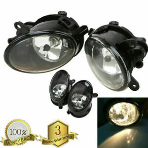 Front Left Right Side Fog Lights Fog Lamps for Audi A6 / A6 QUATTRO C6 2005-2008
