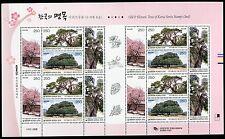 KOREA STAMP 2010 OLD HISTORIC TREE OF KOREA SERIES 2nd M/S SHEET