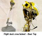 1/6 scale Flight deck crewman ( Yellow )   helmet as beer tap