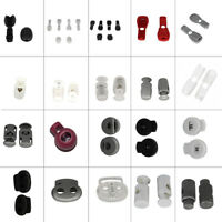 Plastic Cord Stopper Locks Stop Ends for Backpack Drawstring Para Cord Shoelaces
