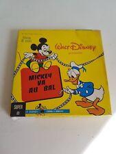 "Film super 8 Disney ""Mickey va au bal"" N&B et muet"