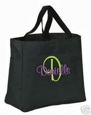7 Personalized Tote Bag Monogram Bridesmaid Gift Wedding Teacher FRIEND SHOWER