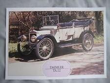 Daimler TA.12 Specification Sheet