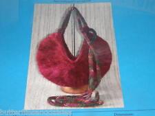 Mezza Luna Crescent Purse Knitting Pattern by knitkit.com  1.2