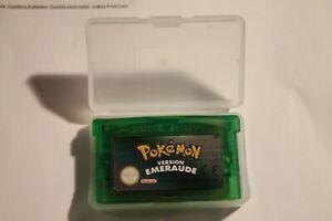 Pokemon Emeraude Nintendo game boy GBA DS version FR