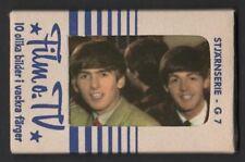 THE BEATLES / 1964 SWEDISH 10 CARD GUM PACK / UNOPENED