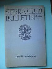 October 1959 Sierra Club Bulletin Oregon Cascades