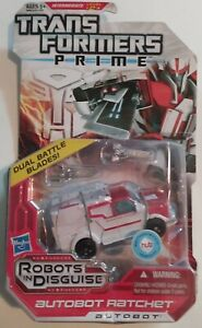 Transformers Prime Robots In Disguise Deluxe Ratchet 2012 MOSC New