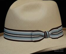 Hat band 40, Sand n Sea -blue Men Ladies Sun Panama Hat fedora Replacement strap