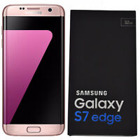 BNIB Samsung Galaxy S7 Edge SM-G935F 32GB Pink Factory Unlocked 4G/LTE Simfree