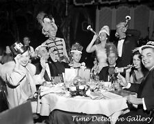 All Dressed Up for New Year's Eve 1957-58 - Vintage Photo Print