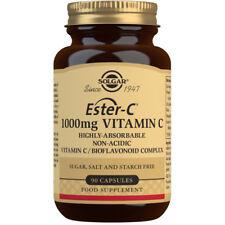 Solgar Ester-C 1000mg Vitamin C Food Supplement - 90 Capsules