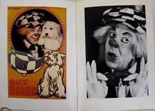 Circus clown comic Popov Nikulin Durov Karandash Rumyantsev photo Russian Book