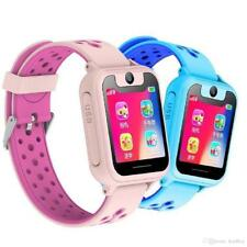 GPS Kids Tracker Bracelet Smart Watch Camera Waterproof Phone WiFi Flashlight