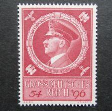 Germany Nazi 1944 Stamp MNH Adolf Hitler 55th birthday Swastika Eagle WWII 3rd R