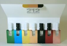 212 CAROLINA HERRERA COLLECTION - 7 SAMPLE VIAL IN A FUNNY BOX 10.5 ML 0.35 FLOZ