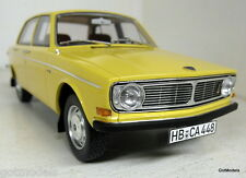 BoS 1/18 Scale 194148 Volvo 144 Saloon Light yellow Resin cast model car