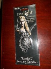 Twilight New Moon ROSALIE'S NECKLACE Pendant Prop Replica Cullen Crest NECA NEW