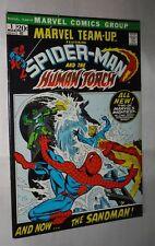 MARVEL TEAMP UP #1 SPIDER-MAN TORCH  9.0