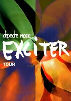 PROGRAMME TOUR BOOK DEPECHE MODE EXCITER TOUR 2001 RARE COLLECTOR EXCELLENT ETAT