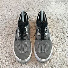 Clarks Womens Shoes UK 5.5 Eur 39 Black White Knit Trainers *