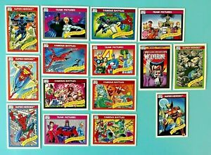 Lot of 15 -1990 Marvel Universe Series Trading Cards