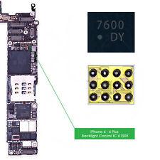 U1502 & U1580 Rétroéclairage IC Back Light Control 12 broches Chip pour iPhone 6 & 6 Plus