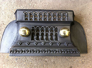 Reclaimed Cast Iron Tidy Betty Fire Place Fender Hearth Range Grate (BL499)