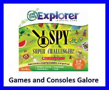 NEW!! LeapPad Ultimate Game, Scholastic I Spy Super Challenger Leapster GS