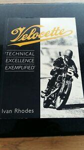 Vellocette Technical  Excellence  Exemplified. Ivan Rhodes. Softback